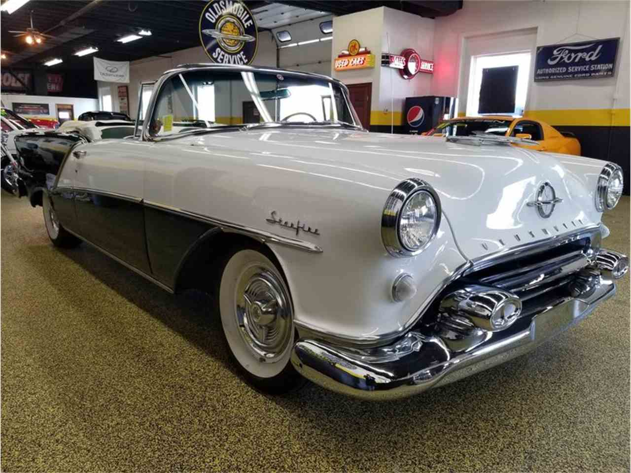 Large Picture of Classic '54 Oldsmobile 98 Starfire Convertible - $59,500.00 - LUTD