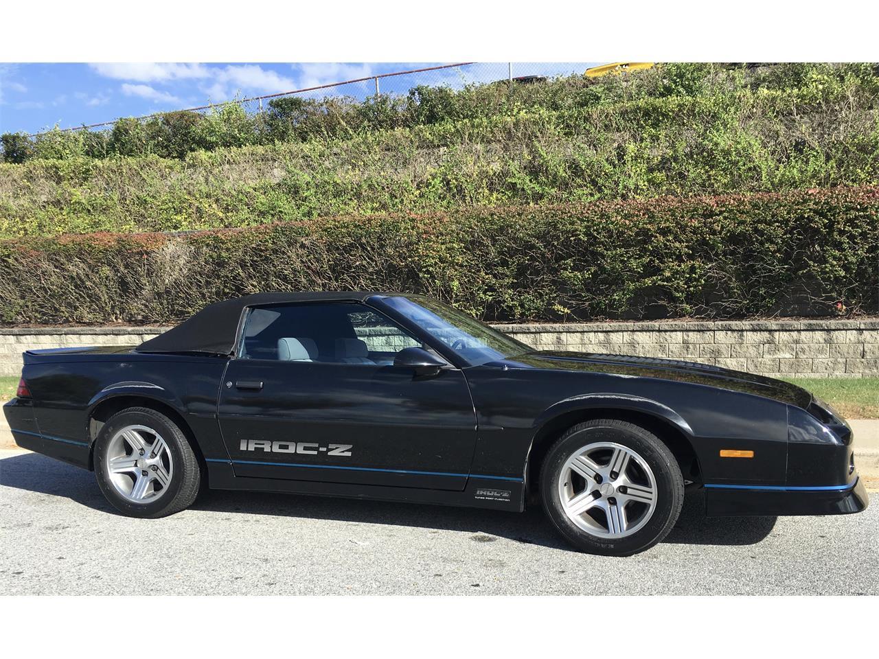 1989 Chevrolet Camaro Iroc Z For Sale Classiccars Com Cc 1019793