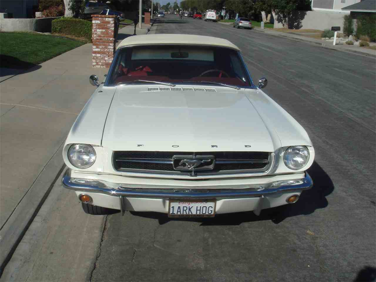Large Picture of '65 Ford Mustang located in Huntington Beach California - $25,000.00 - LUVO
