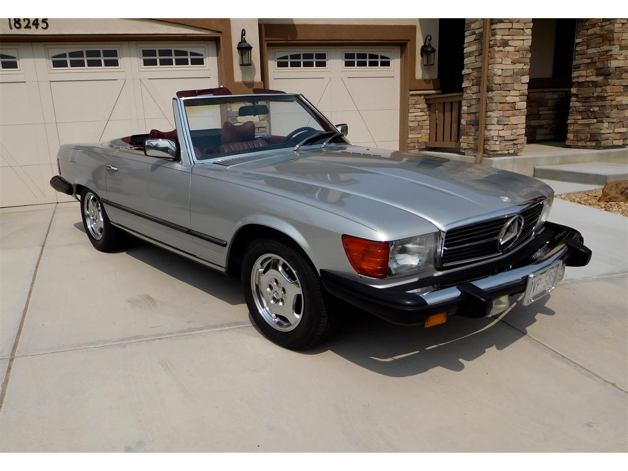 For Sale: 1979 Mercedes-Benz 450SL in Parker, Colorado