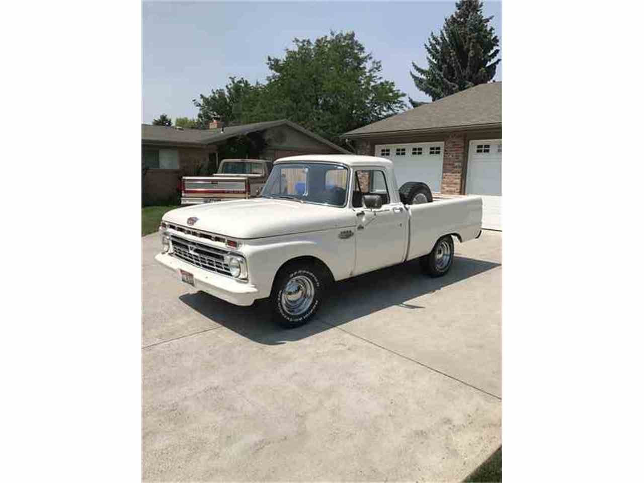 Large Picture of '66 F100 - LUWX