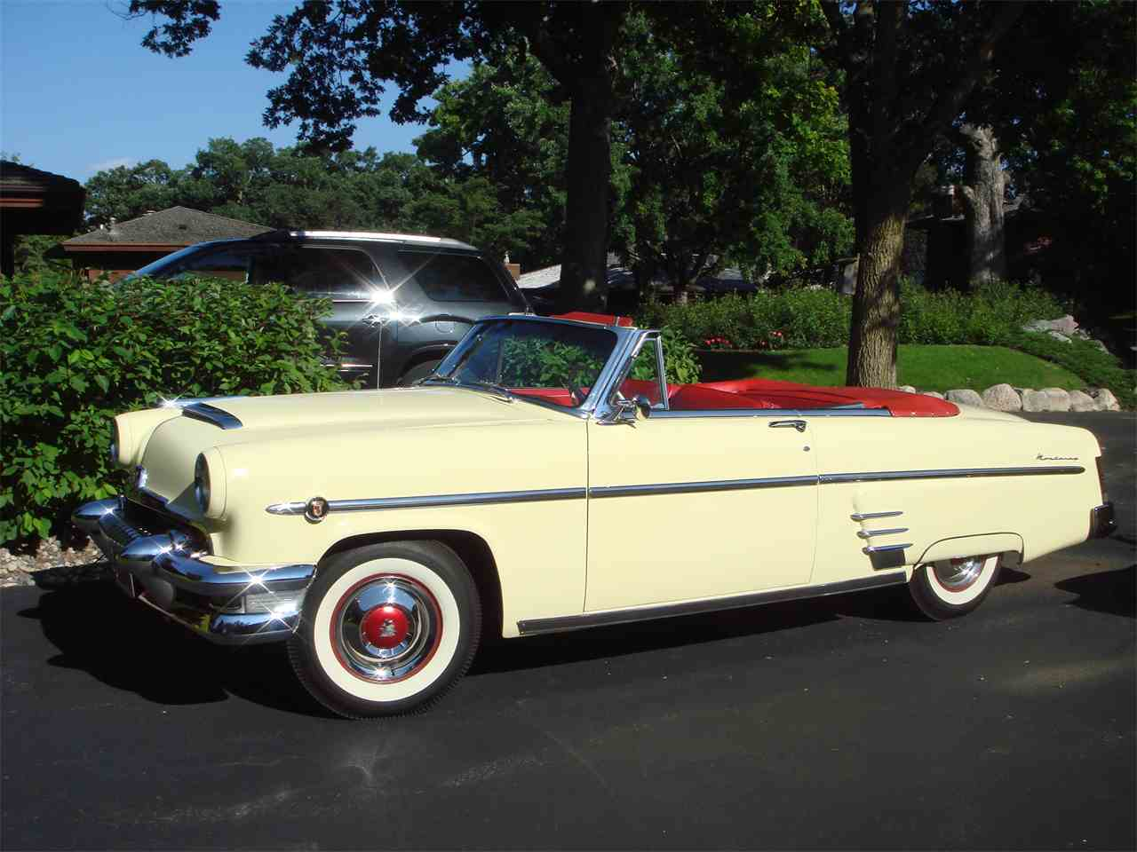 1954 mercury convertible for sale cc 1019845. Black Bedroom Furniture Sets. Home Design Ideas
