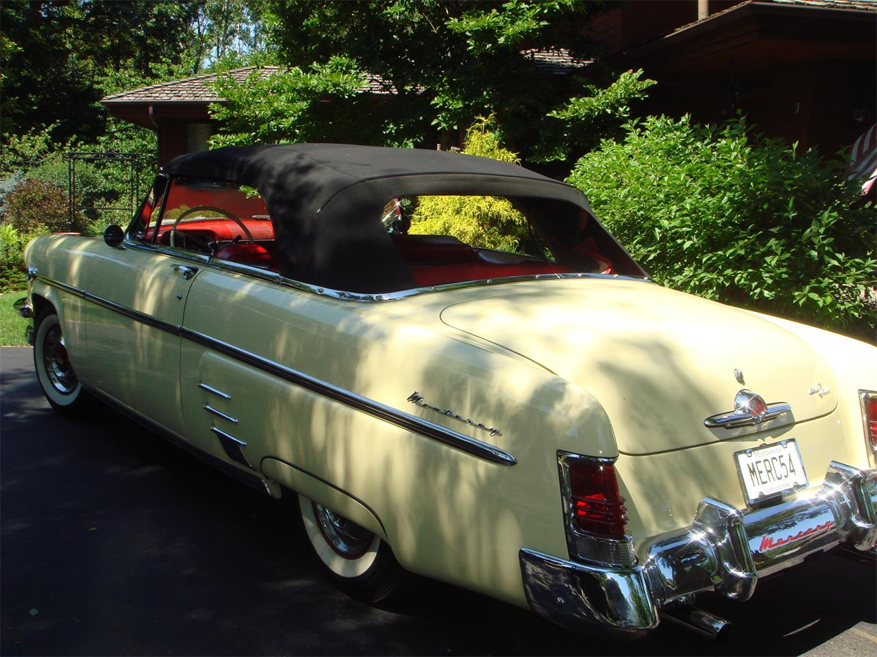 Large Picture of Classic 1954 Mercury Convertible located in Minnetonka Minnesota - $69,850.00 - LUX1