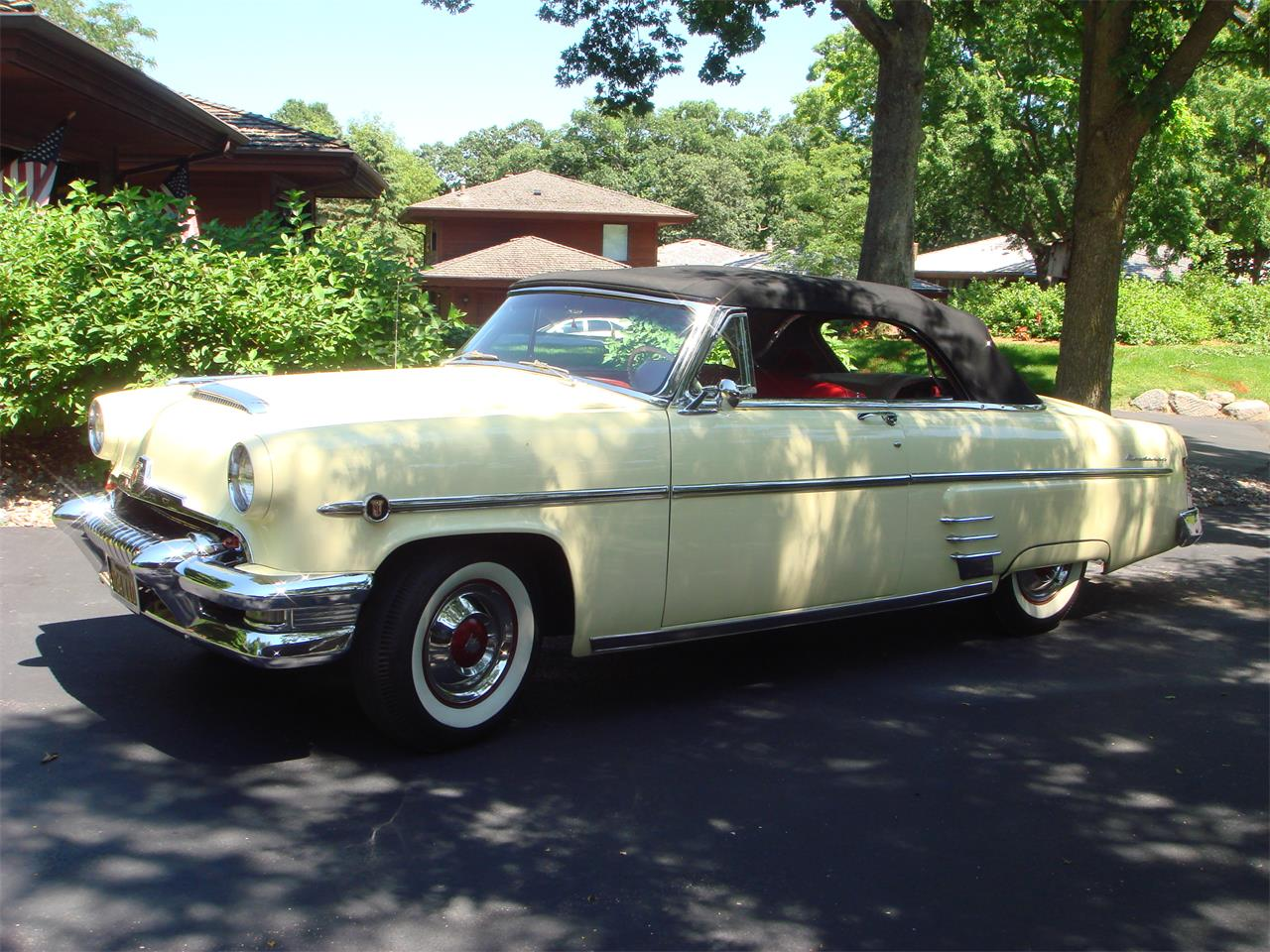 Large Picture of Classic 1954 Mercury Convertible Offered by a Private Seller - LUX1