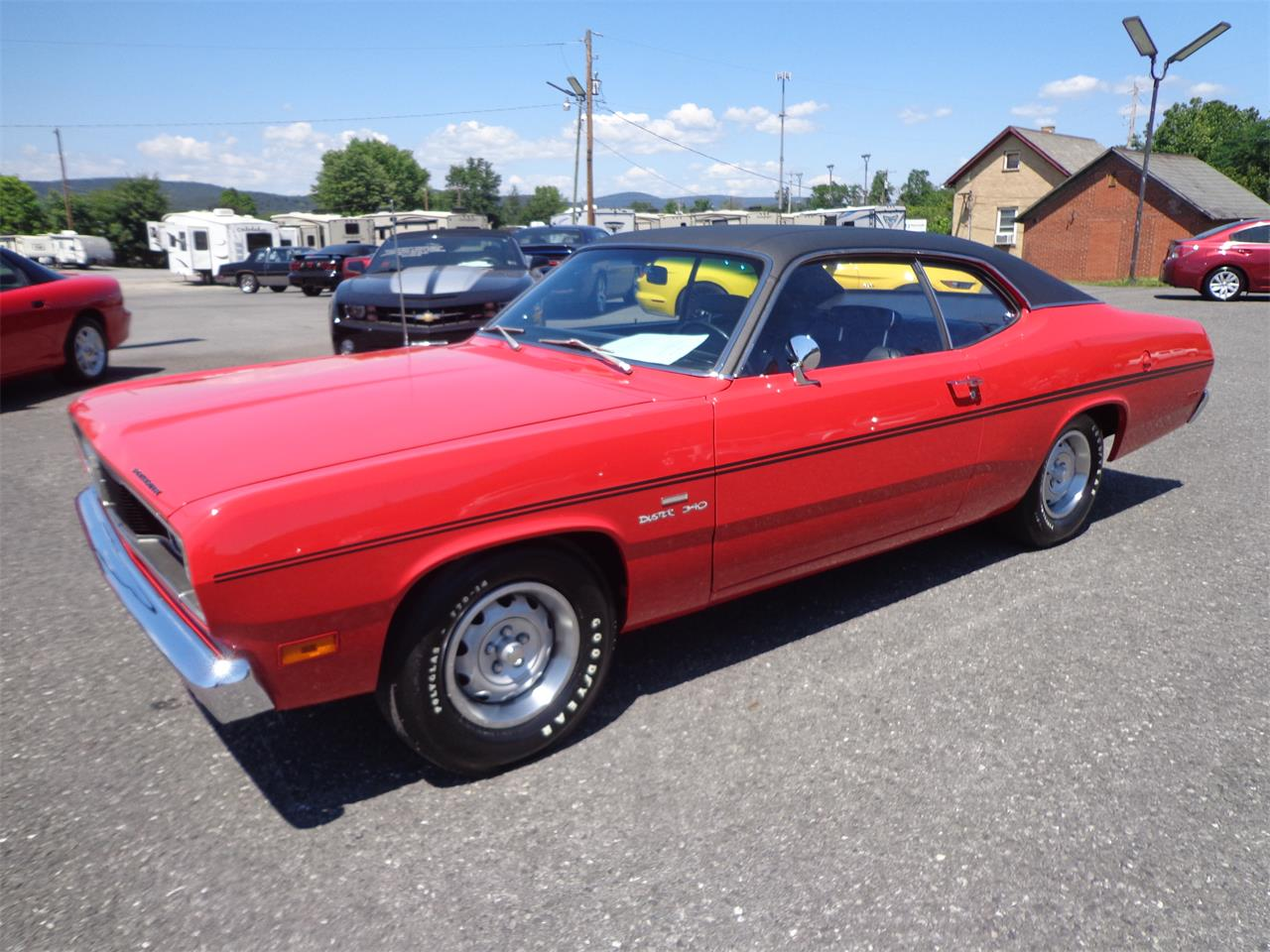 Large Picture of Classic 1970 Plymouth Duster located in MILL HALL Pennsylvania - $45,995.00 Offered by Miller Brothers Auto Sales Inc - LO30