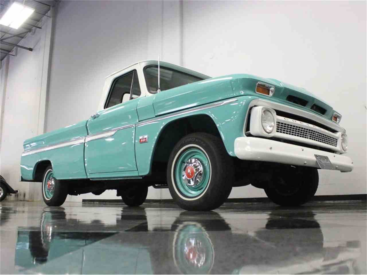 Large Picture of Classic '66 Chevrolet C10 located in Ft Worth Texas Offered by Streetside Classics - Dallas / Fort Worth - LUZQ