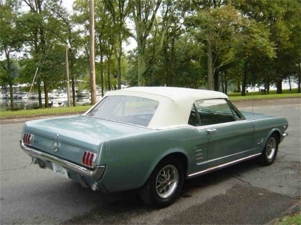 Large Picture of '66 Mustang - LVTV