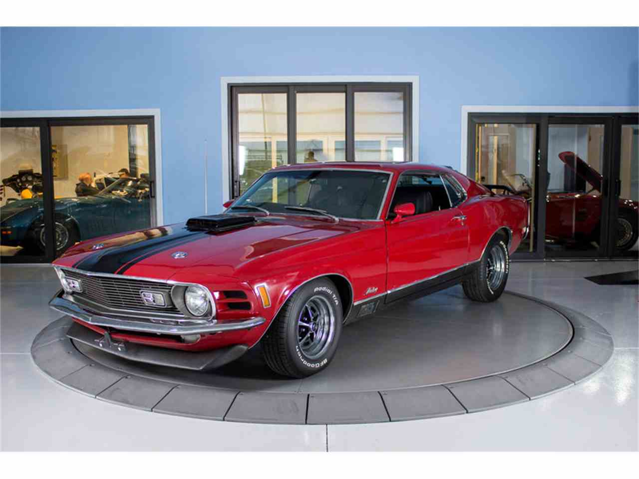 Large Picture of Classic 1970 Mustang Mach 1 located in Florida - LVUC