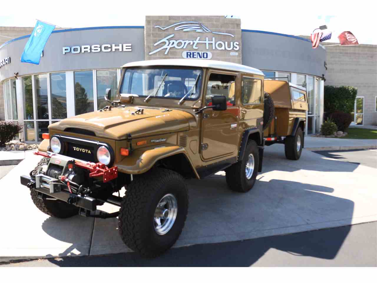Large Picture of '75 Land Cruiser 4X4 with Trailer located in Reno Nevada - $62,500.00 Offered by Sport Haus Reno - LVUD