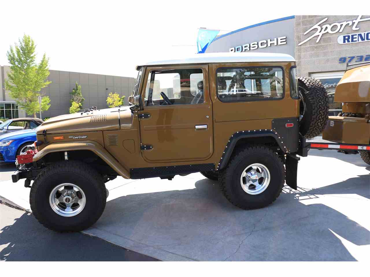 Large Picture of '75 Toyota Land Cruiser 4X4 with Trailer Offered by Sport Haus Reno - LVUD