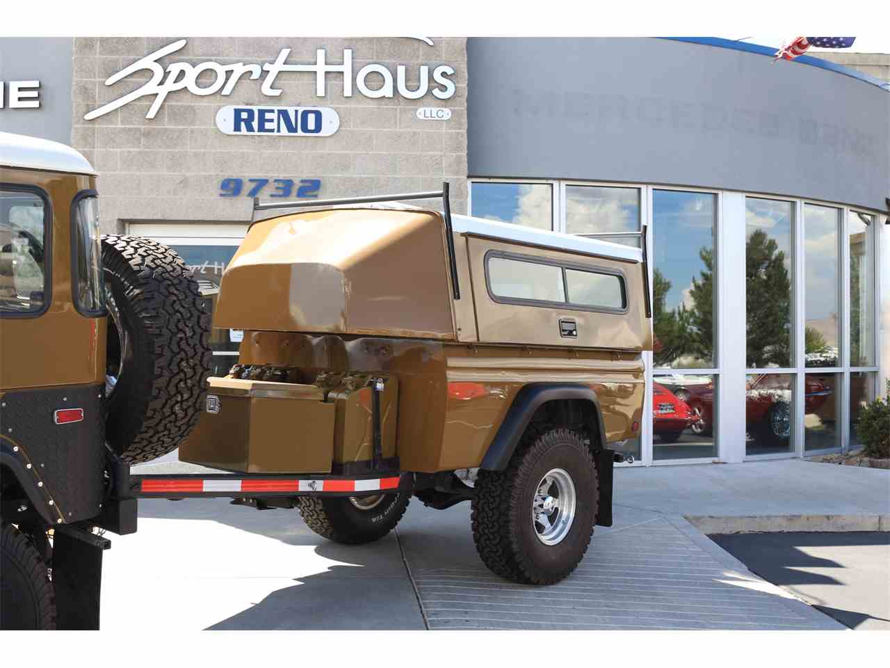 Large Picture of 1975 Toyota Land Cruiser 4X4 with Trailer located in Reno Nevada Offered by Sport Haus Reno - LVUD