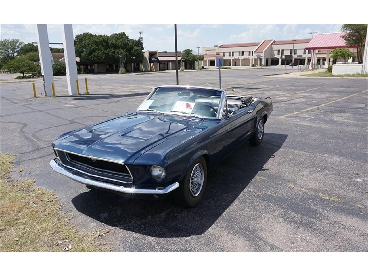 1968 ford mustang for sale cc 1021158. Black Bedroom Furniture Sets. Home Design Ideas
