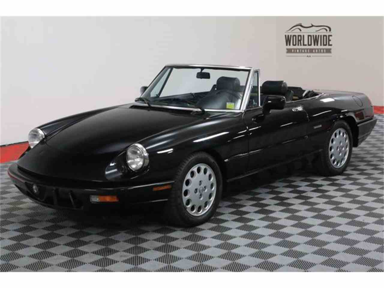 1993 Alfa Romeo Spider for Sale | ClassicCars.com | CC-1020134