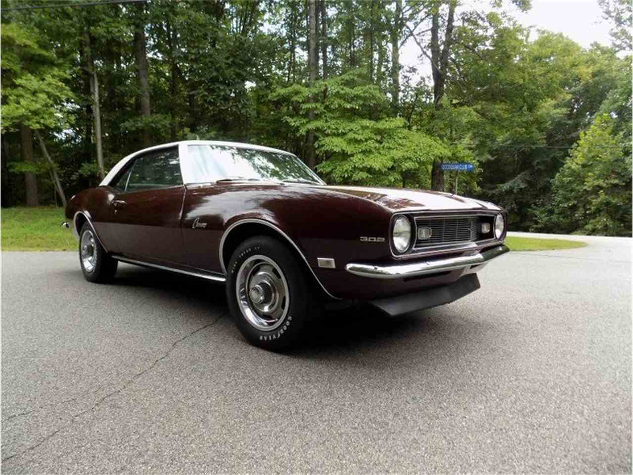 Large Picture of Classic '68 Chevrolet Camaro Z28 located in North Carolina Offered by GAA Classic Cars Auctions - LV5M