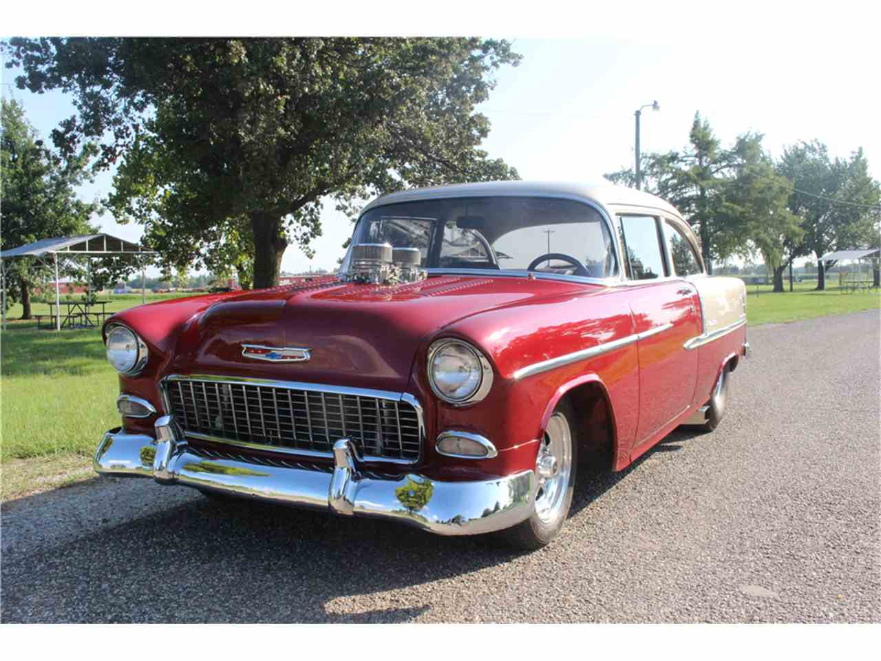 Large Picture of '55 Bel Air - LWBU