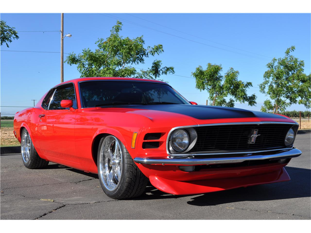 Large Picture of Classic '70 Mustang Auction Vehicle - LWCS