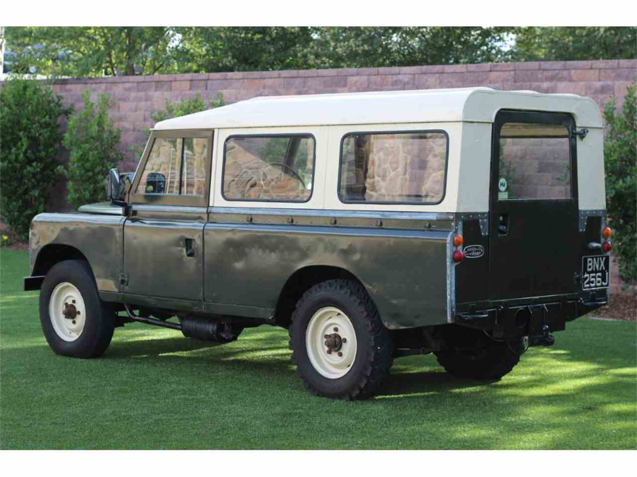 Large Picture of '70 Series IIA - LWCU