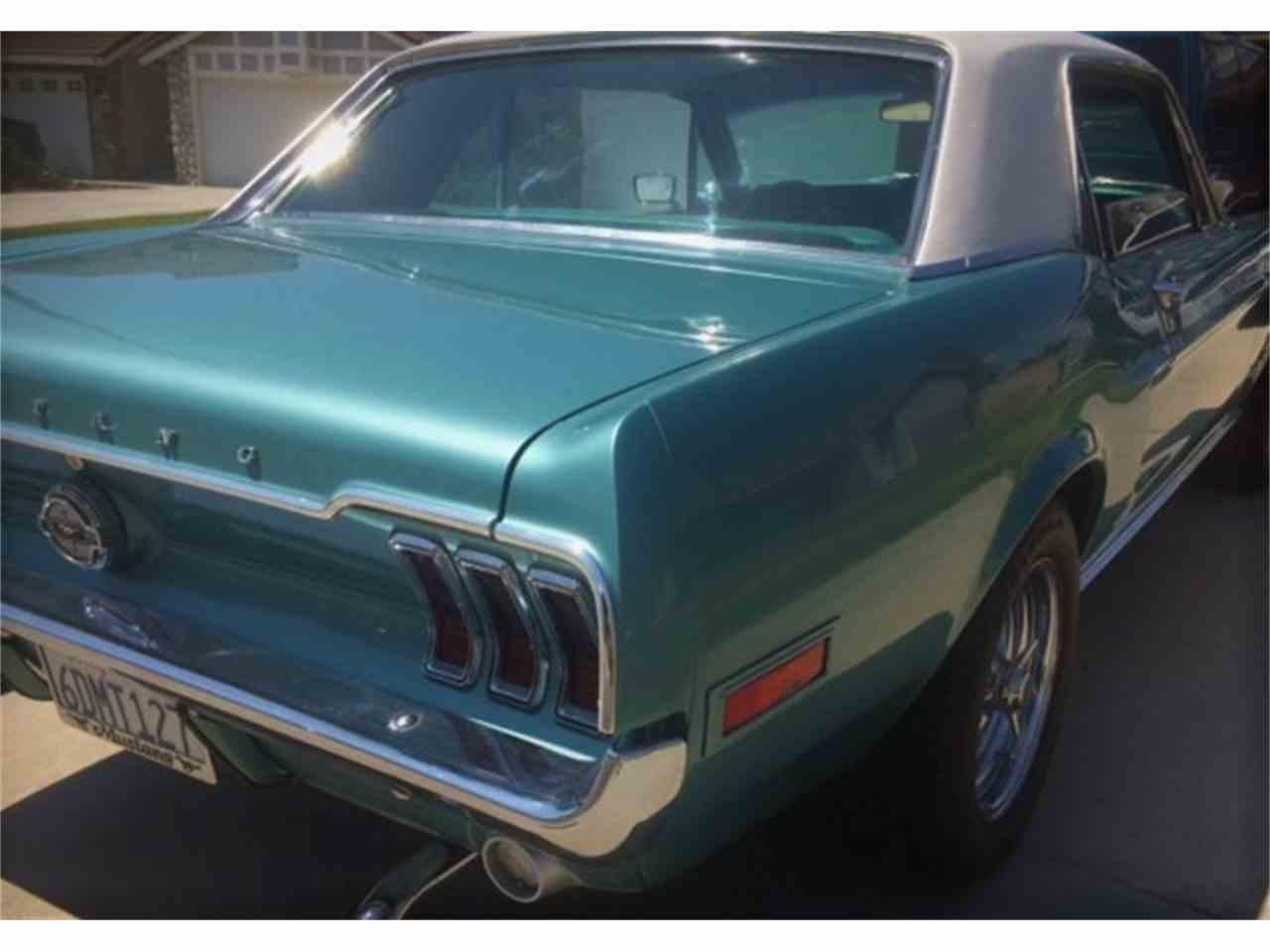 Large Picture of '68 Mustang - LWEK