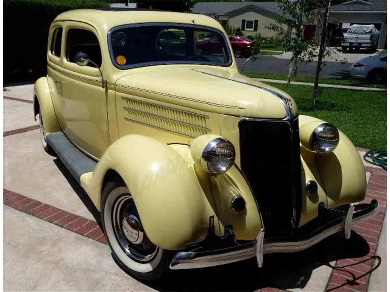 Large Picture of '36 Sedan - LWFW