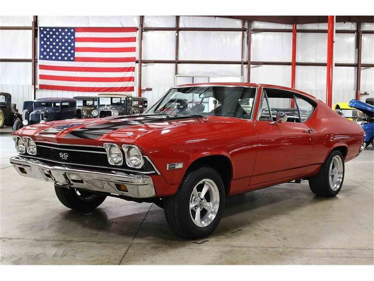 Large Picture of '68 Chevrolet Chevelle located in Kentwood Michigan Offered by GR Auto Gallery - LWG2