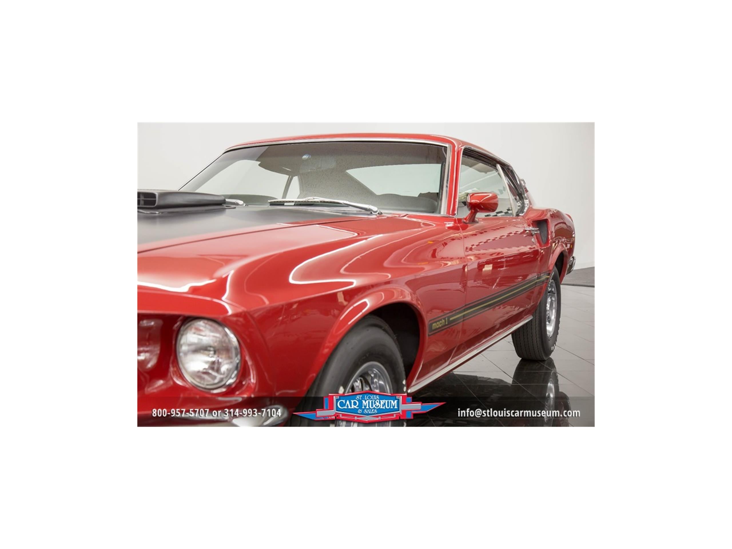 Large Picture of '69 Mustang Mach 1 - LWGT