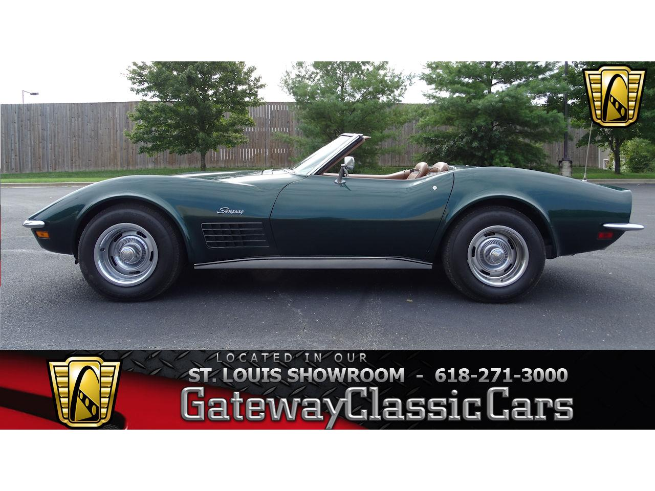 Large Picture of '71 Chevrolet Corvette located in O'Fallon Illinois - $29,595.00 Offered by Gateway Classic Cars - St. Louis - LWIG