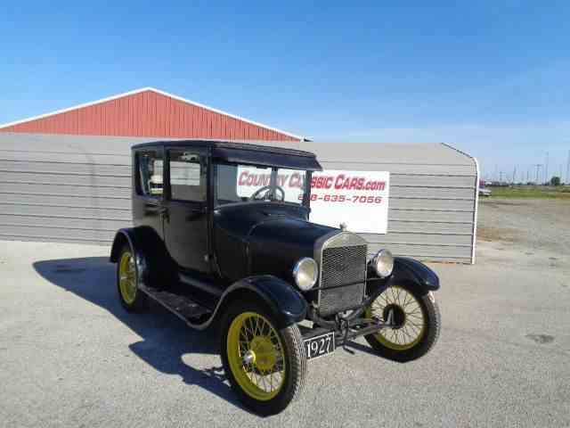 Picture of Classic '27 Model T located in Staunton Illinois Offered by  - LWIZ