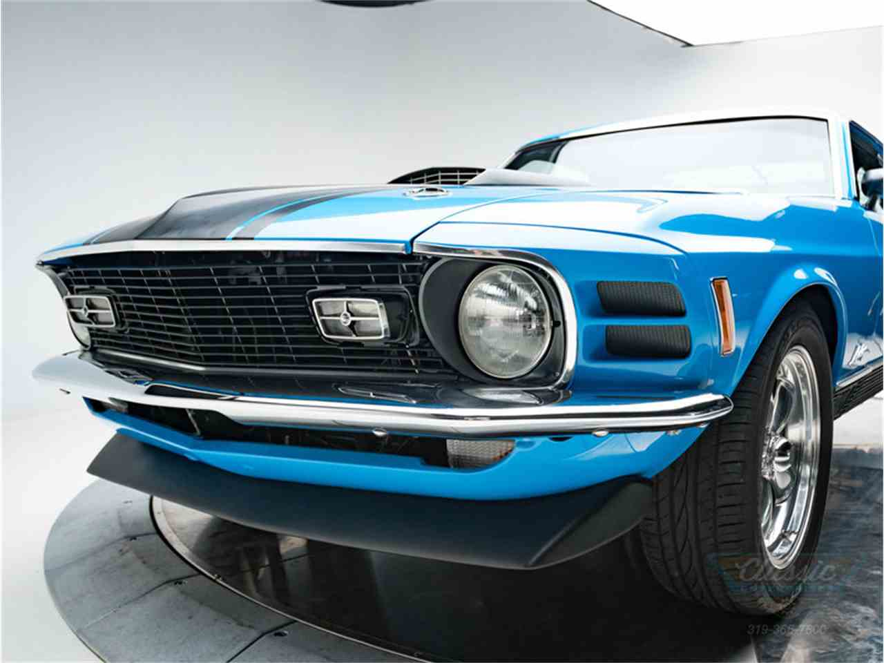 Large Picture of Classic 1970 Ford Mustang Mach 1 located in Cedar Rapids Iowa - LWJF