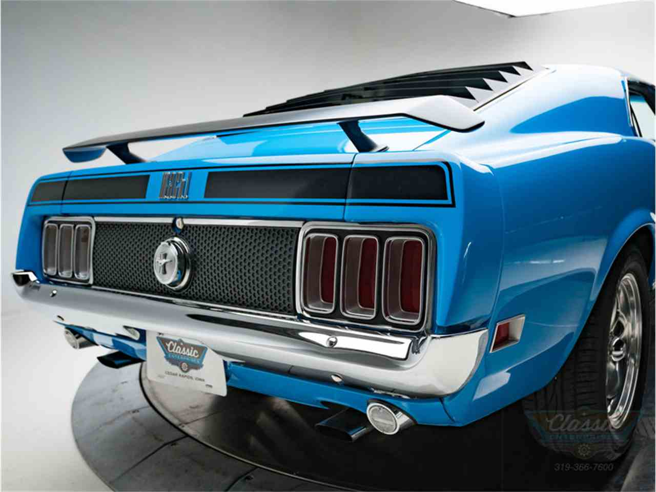 Large Picture of 1970 Ford Mustang Mach 1 - LWJF