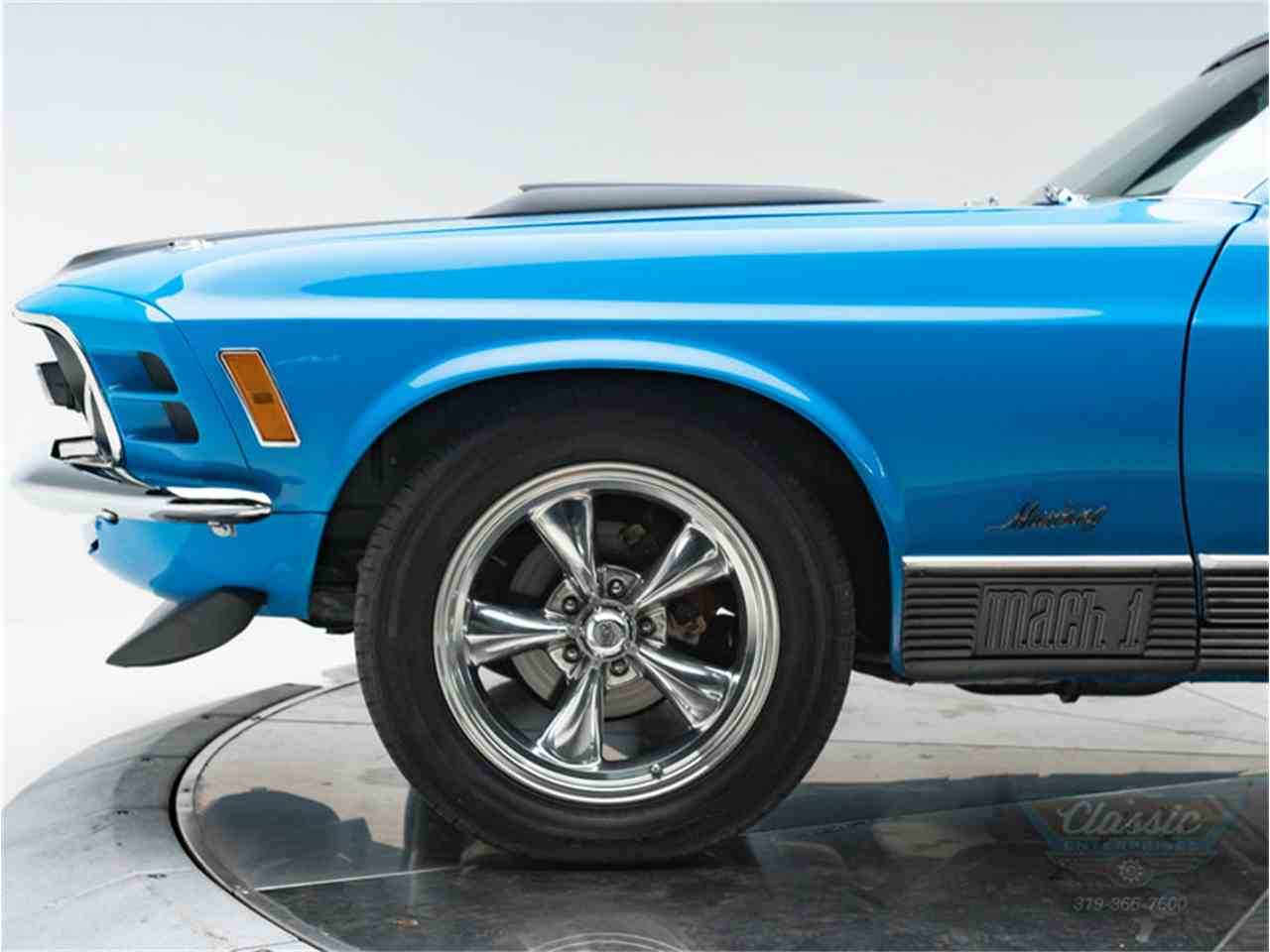 Large Picture of Classic '70 Mustang Mach 1 located in Cedar Rapids Iowa - $42,950.00 Offered by Classic Enterprises - LWJF