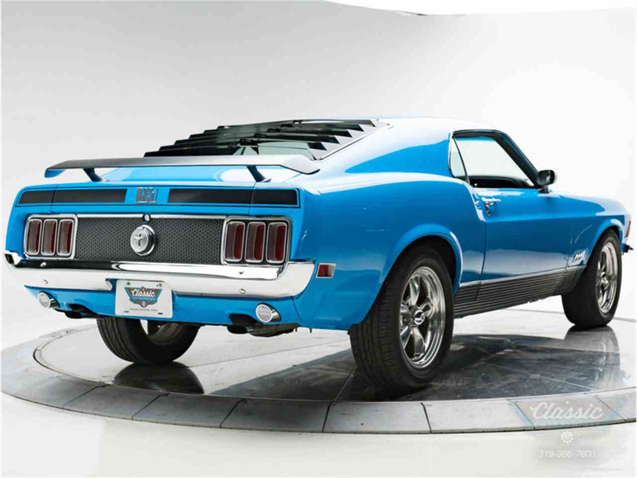 Large Picture of Classic '70 Mustang Mach 1 - LWJF