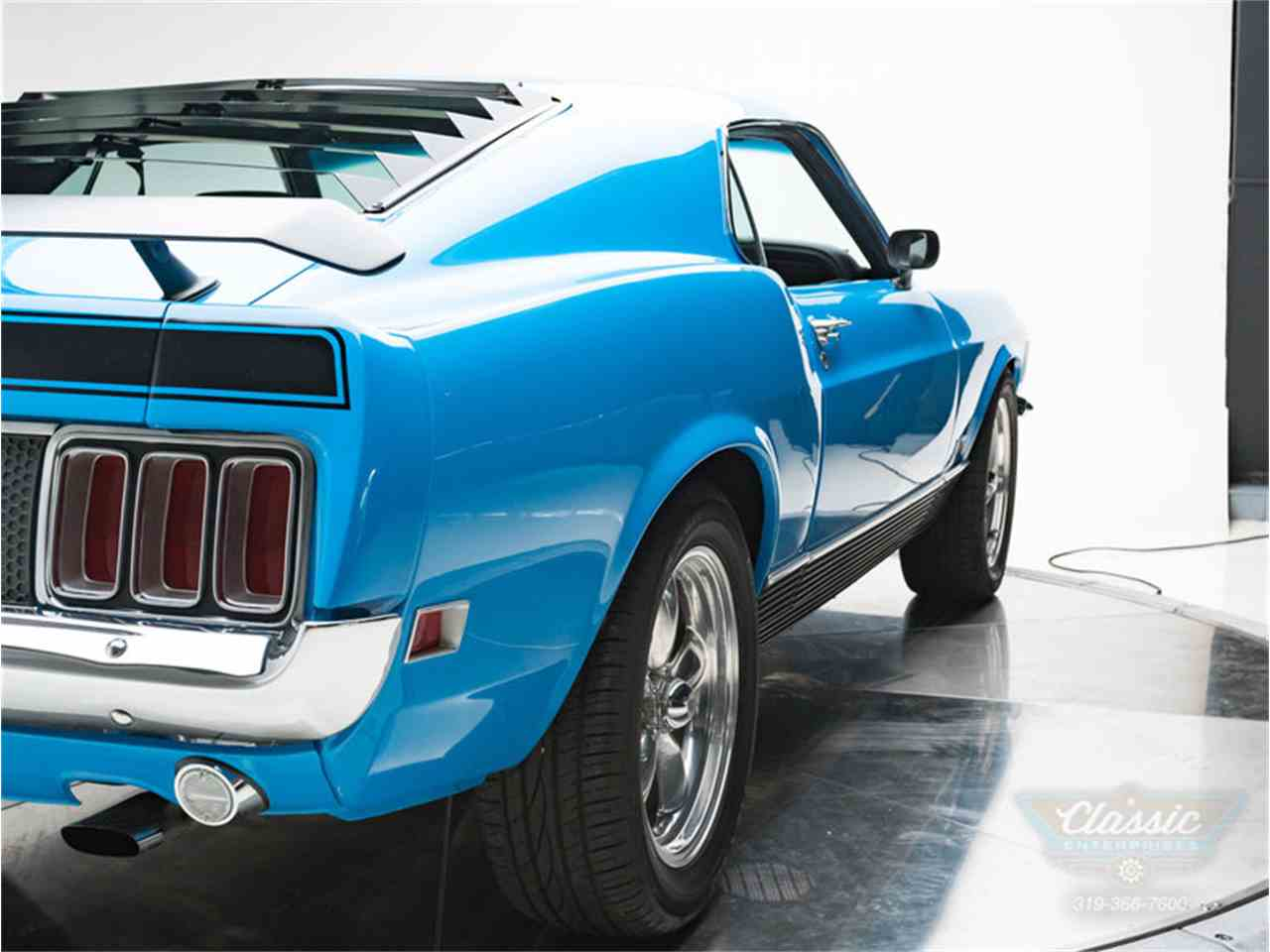 Large Picture of Classic '70 Ford Mustang Mach 1 located in Iowa - $42,950.00 Offered by Classic Enterprises - LWJF