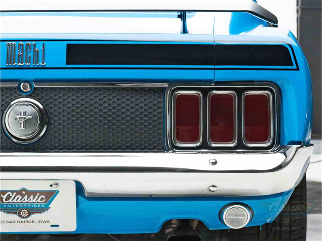 Large Picture of Classic 1970 Ford Mustang Mach 1 located in Iowa Offered by Classic Enterprises - LWJF