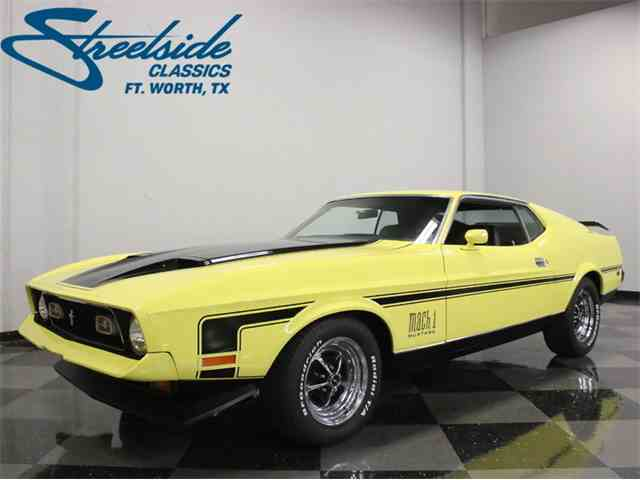 Picture of '71 Mustang Mach 1 - LWKL