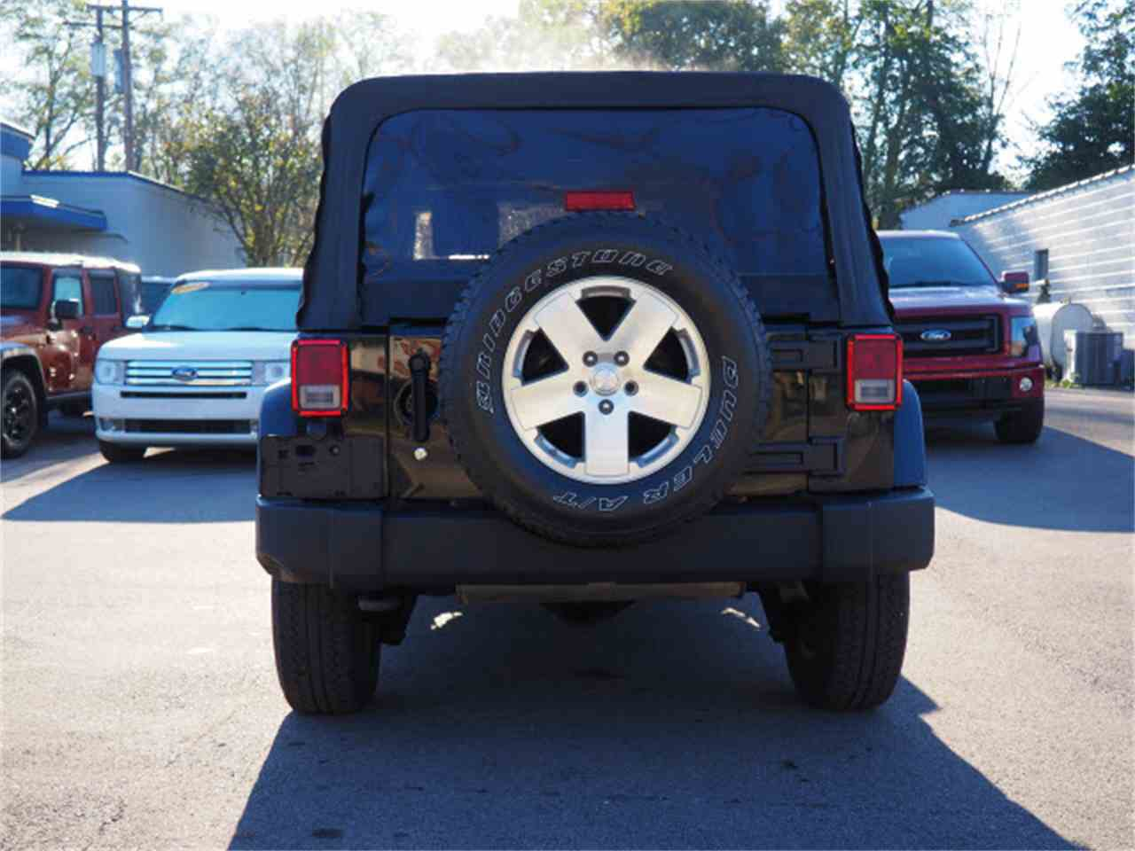 Large Picture of 2009 Wrangler located in Ohio Offered by Cincinnati Auto Wholesale - LWMR