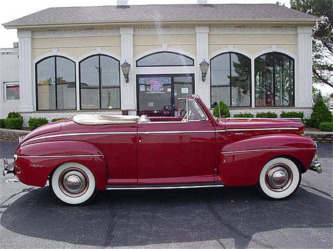 Large Picture of '41 Mercury Convertible - $65,000.00 Offered by a Private Seller - LV7A
