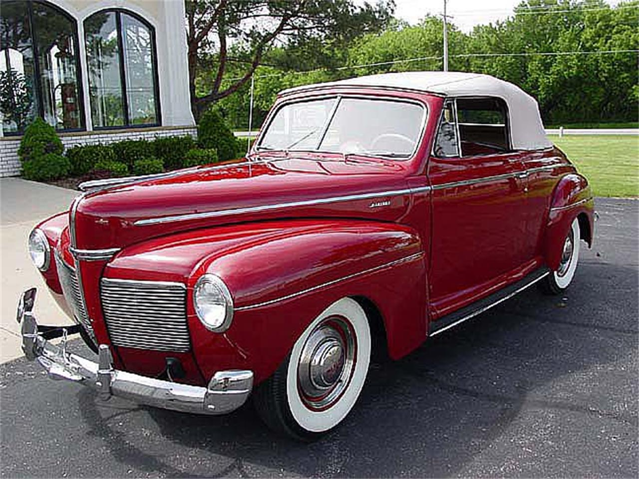 Large Picture of 1941 Mercury Convertible located in Minnesota - $65,000.00 Offered by a Private Seller - LV7A