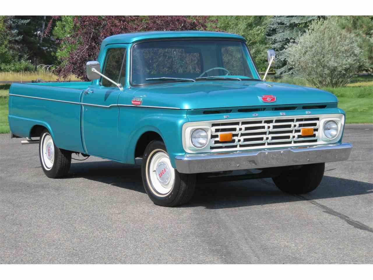 1964 ford f100 for sale cc 1022314. Black Bedroom Furniture Sets. Home Design Ideas