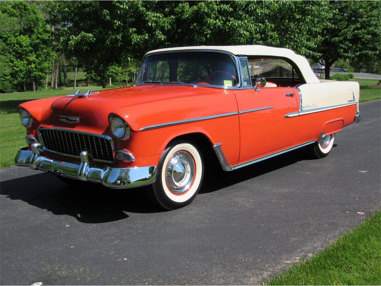 Large Picture of Classic '55 Chevrolet Bel Air Auction Vehicle Offered by Miller Brothers Auto Sales Inc - LWTR