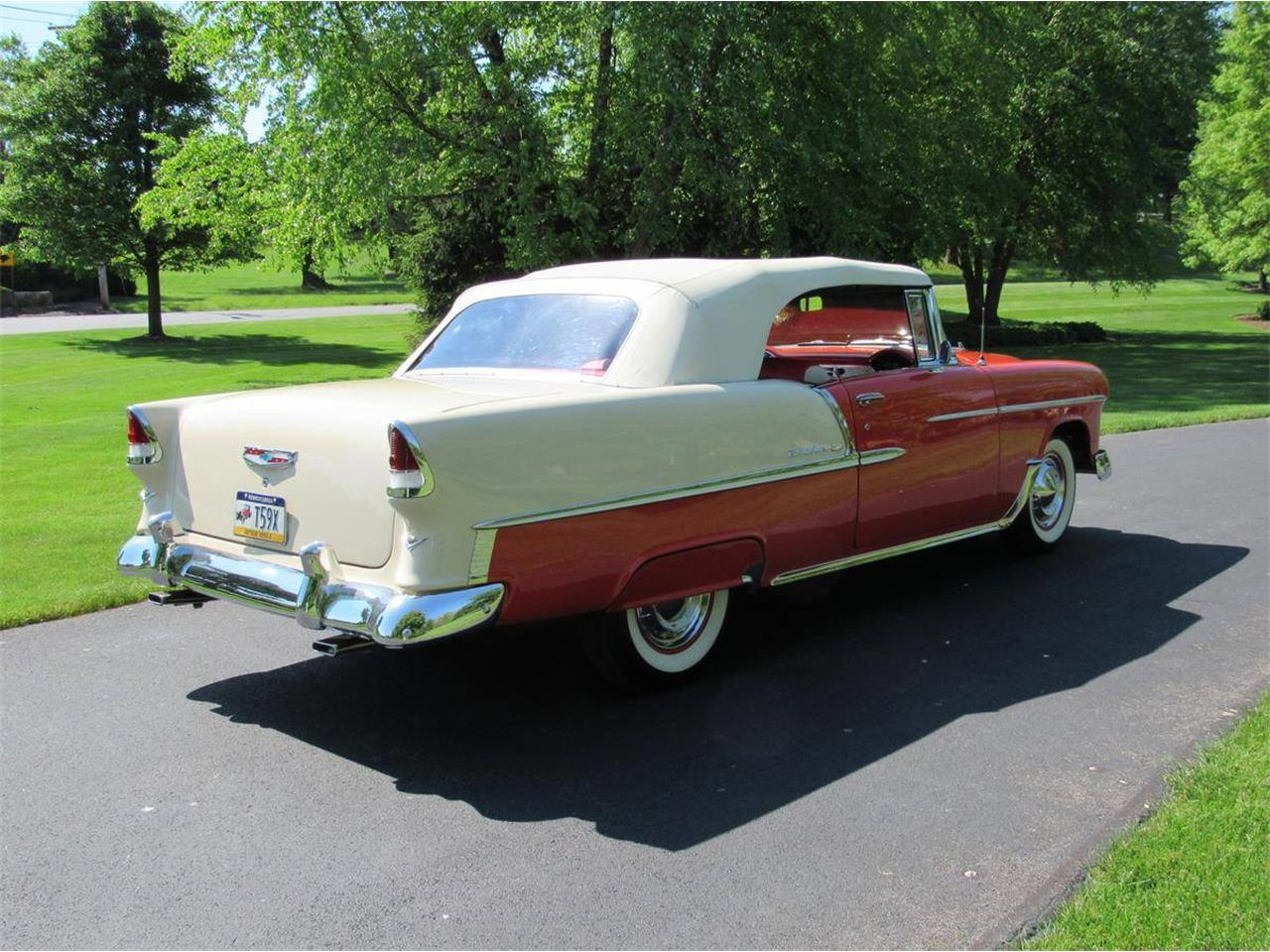Large Picture of Classic '55 Chevrolet Bel Air Offered by Miller Brothers Auto Sales Inc - LWTR