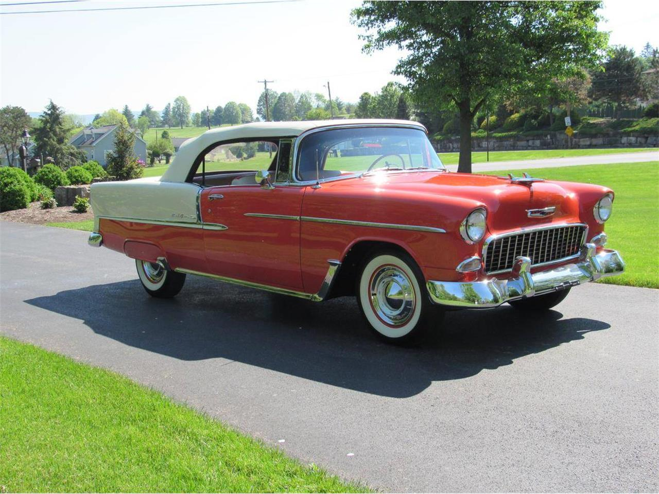 Large Picture of Classic '55 Chevrolet Bel Air located in Pennsylvania Auction Vehicle - LWTR