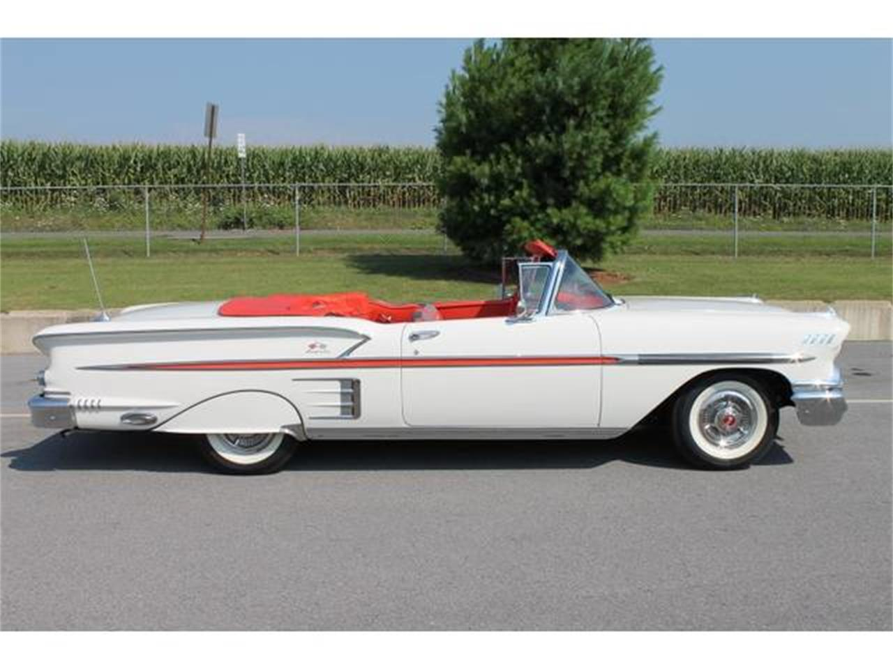 Large Picture of Classic '58 Impala located in Pennsylvania Auction Vehicle Offered by Miller Brothers Auto Sales Inc - LWTZ