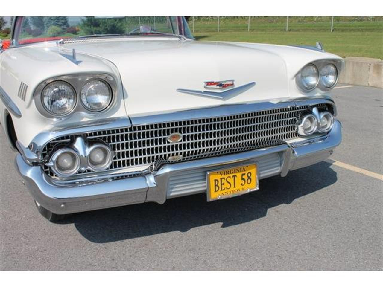Large Picture of 1958 Chevrolet Impala Auction Vehicle - LWTZ