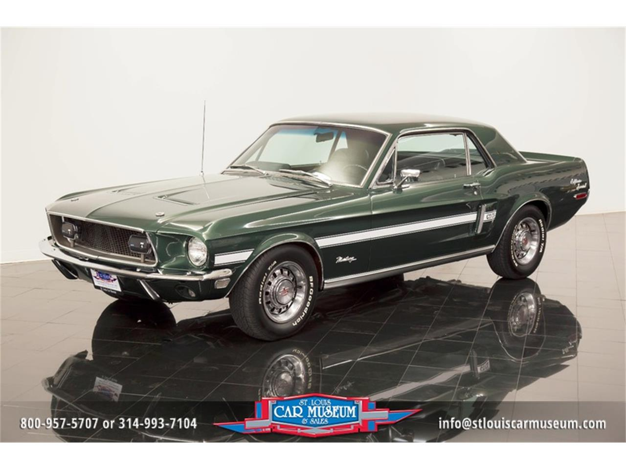 Large Picture of Classic '68 Ford Mustang GT/CS (California Special) located in Missouri - $59,900.00 - LWVZ