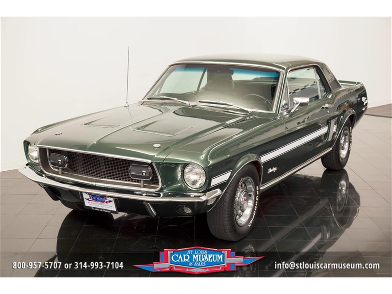 Large Picture of Classic 1968 Ford Mustang GT/CS (California Special) located in St. Louis Missouri - $59,900.00 Offered by St. Louis Car Museum - LWVZ