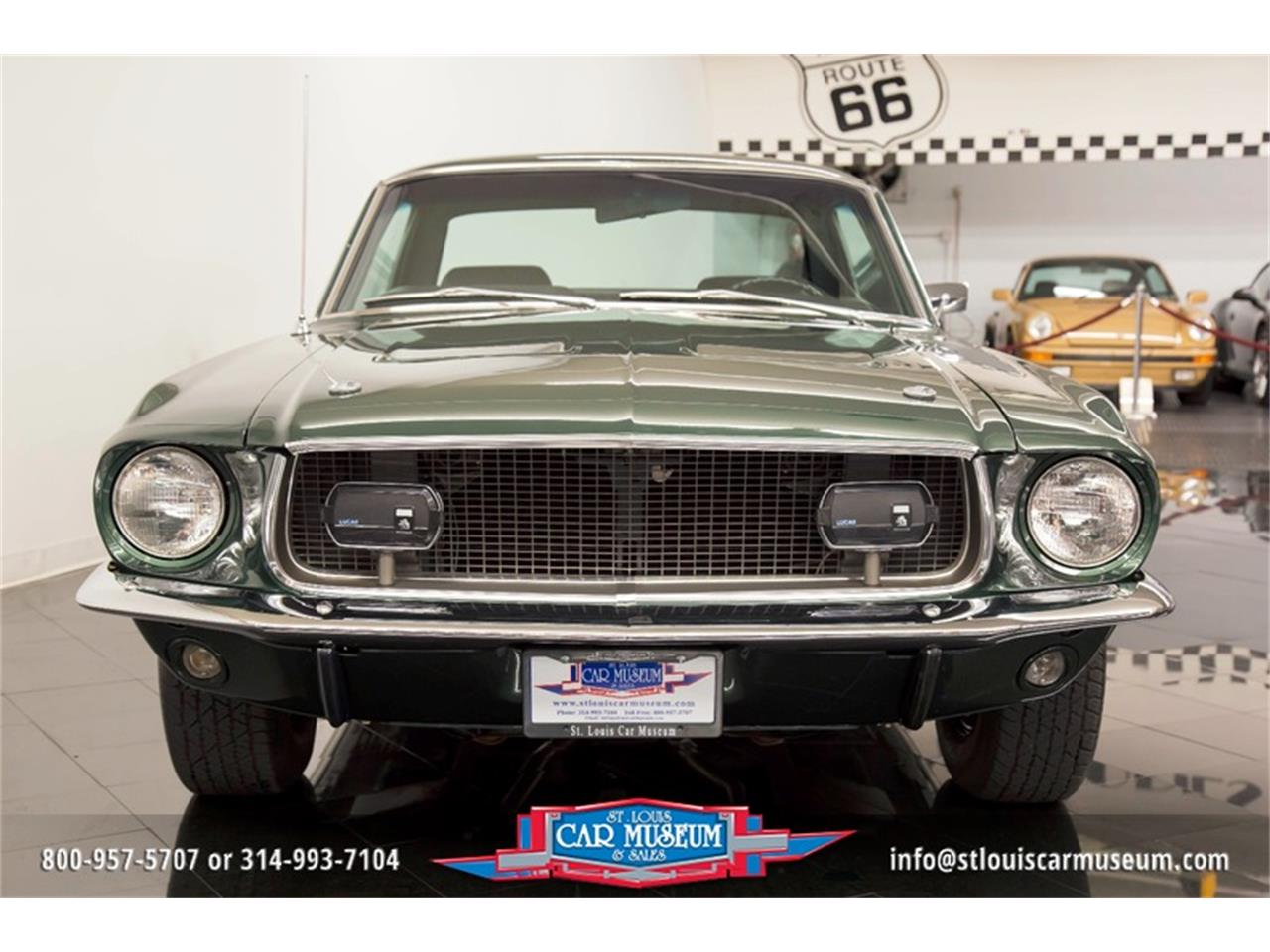 Large Picture of Classic 1968 Ford Mustang GT/CS (California Special) located in St. Louis Missouri Offered by St. Louis Car Museum - LWVZ