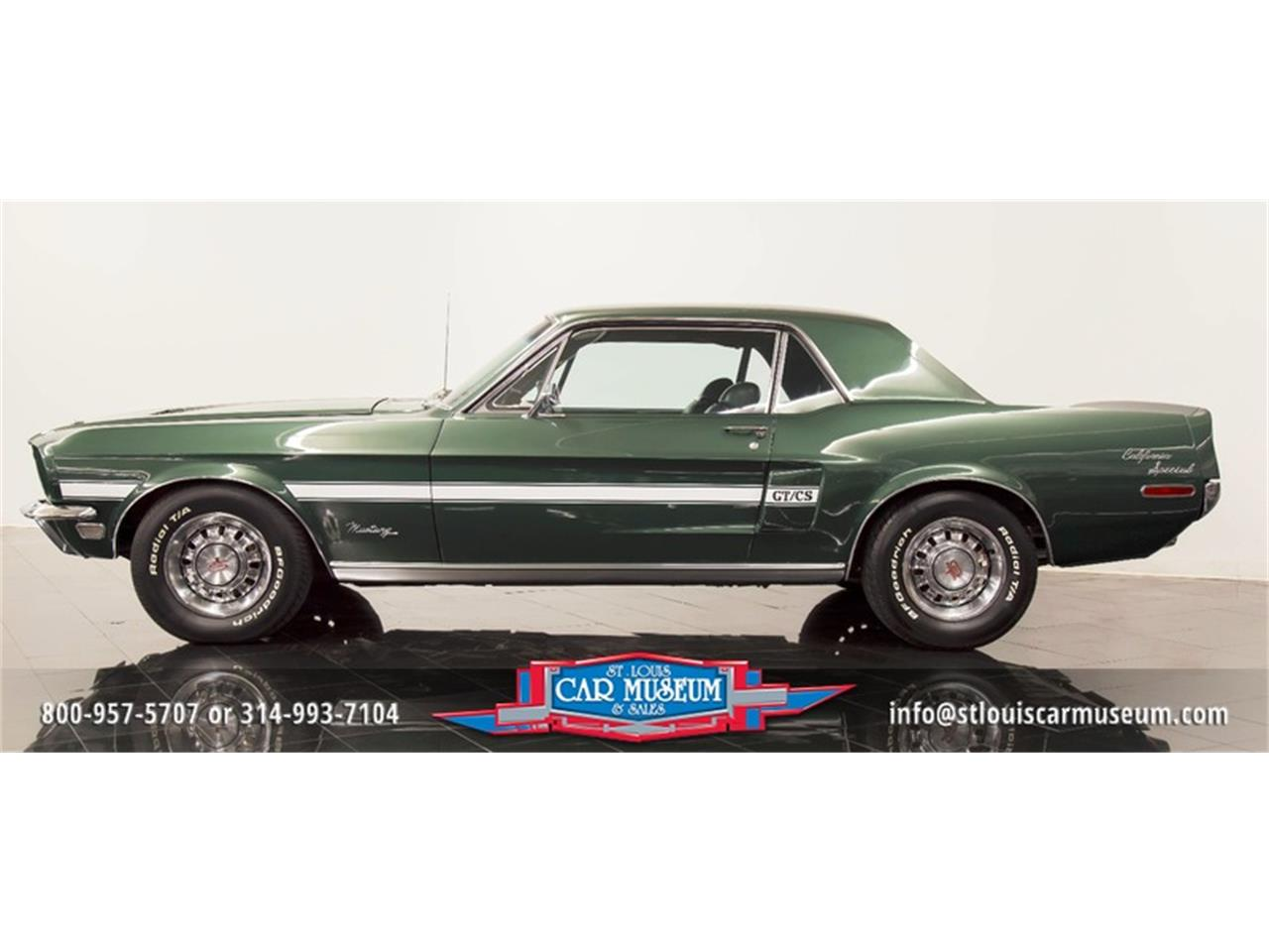 Large Picture of '68 Mustang GT/CS (California Special) located in St. Louis Missouri - $59,900.00 - LWVZ