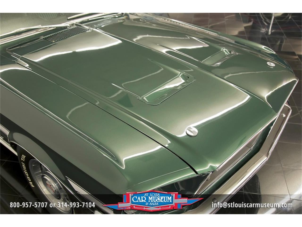 Large Picture of 1968 Ford Mustang GT/CS (California Special) Offered by St. Louis Car Museum - LWVZ