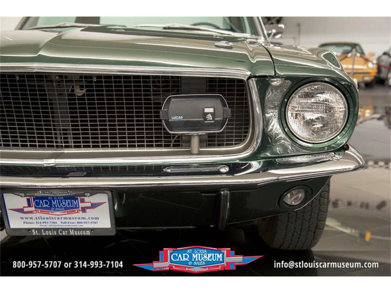 Large Picture of Classic '68 Mustang GT/CS (California Special) located in St. Louis Missouri - $59,900.00 Offered by St. Louis Car Museum - LWVZ