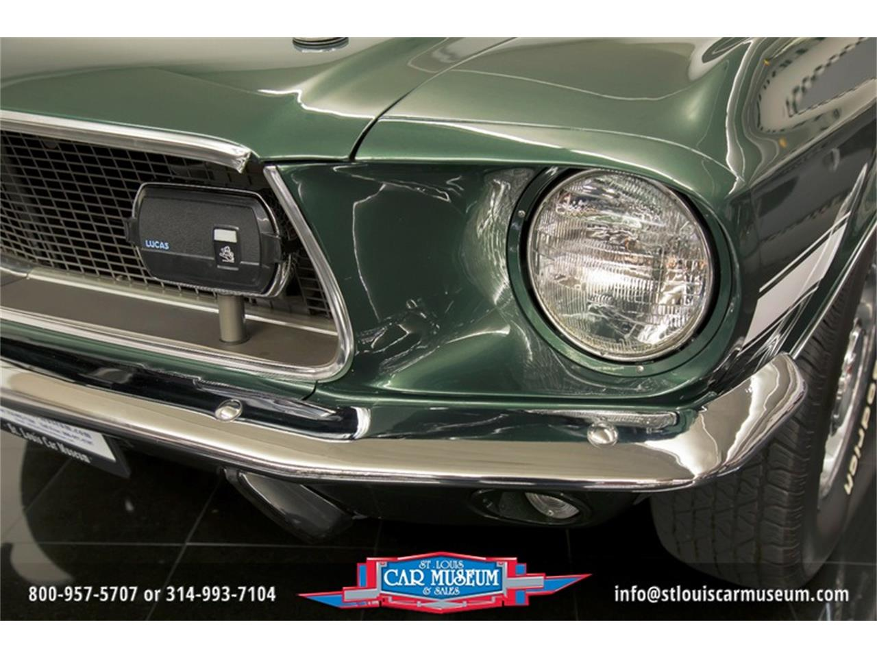 Large Picture of Classic '68 Ford Mustang GT/CS (California Special) - $59,900.00 Offered by St. Louis Car Museum - LWVZ